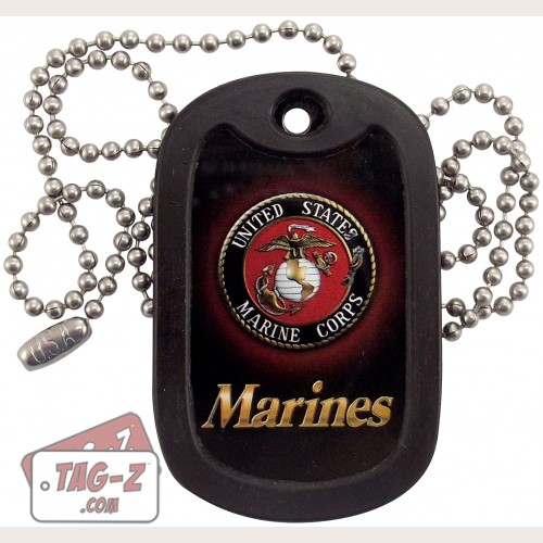 Tag-Z U.S. Marines U.S.M.C. Dog Tag Necklace