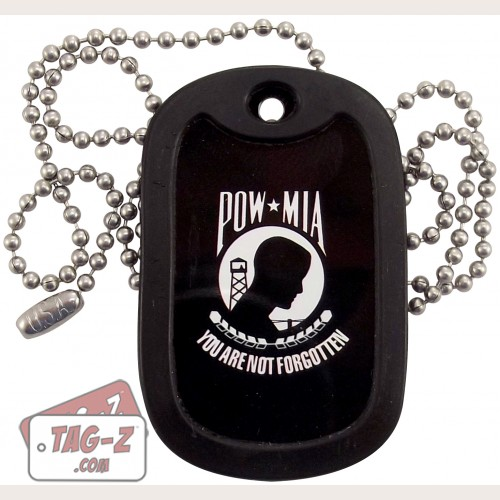 Tag-Z POW-MIA Dog Tag Necklace