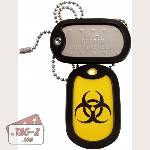 Tag-Z Biohazard Dog Tag Set