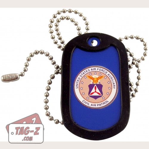 Tag-Z Civil Air Patrol Dog Tag Necklace