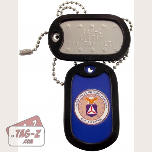 Tag-Z Civil Air Patrol Dog Tag Set