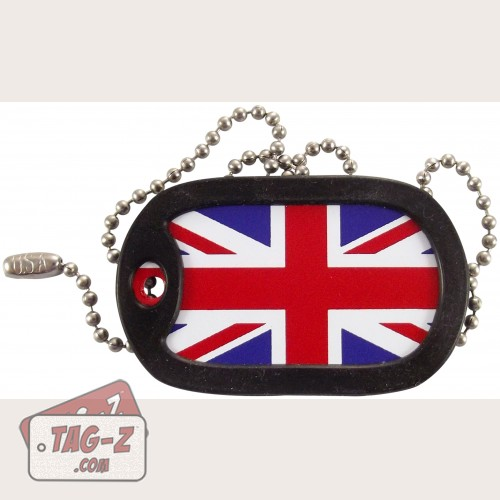 Tag-Z British Flag - Union Jack Dog Tag Necklace
