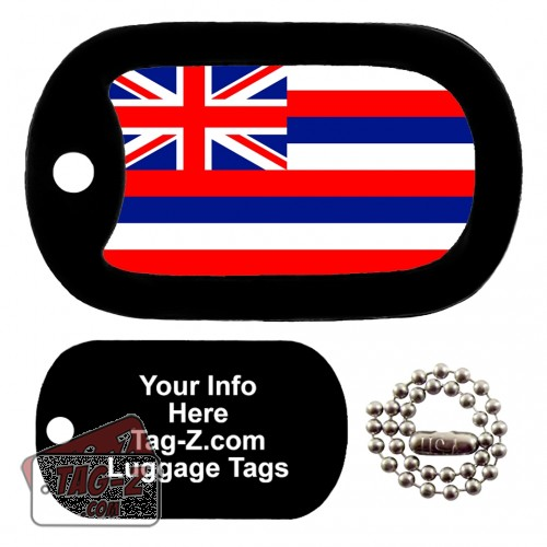 HAWAII FLAG LUGGAGE TAG Tag-Z