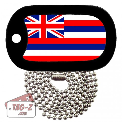 HAWAII FLAG Dog Tag Necklace TAG-Z