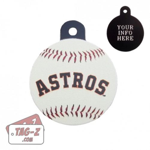 Houston Astros MLB Pet Tag