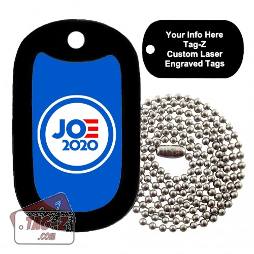 Joe Biden Custom ENGRAVED Necklace Tag-Z
