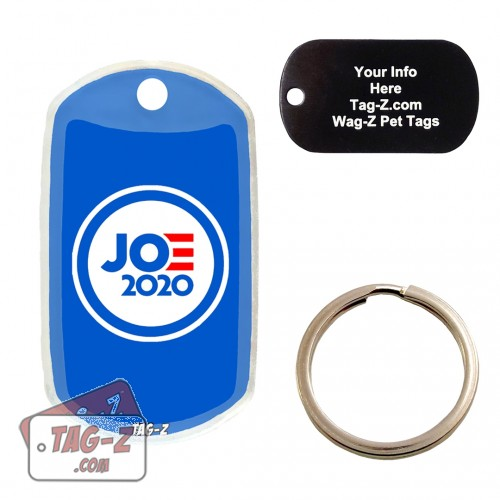 Joe Biden Custom ENGRAVED Pet Tag Tag-Z