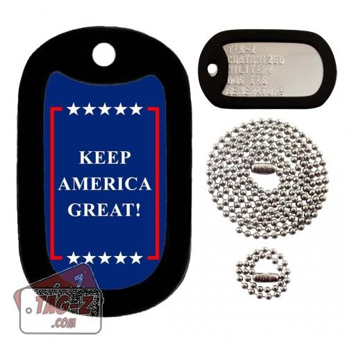 Keep America Great Dog Tag Full Set Tag-Z