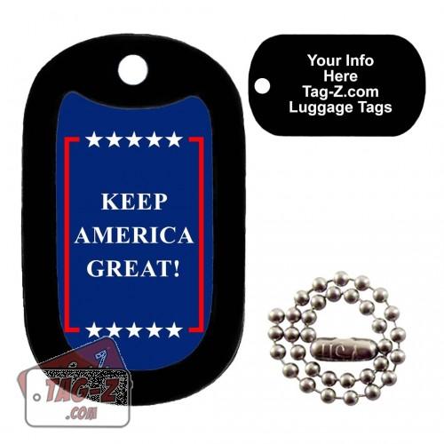 Keep America Great LUGGAGE TAG Tag-Z