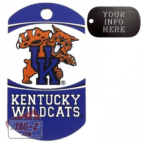 Kentucky Wildcats NCAA Pet Tag