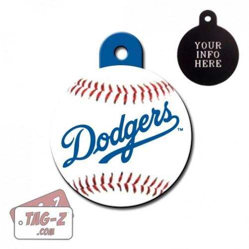Los Angeles Dodgers MLB Pet Tag