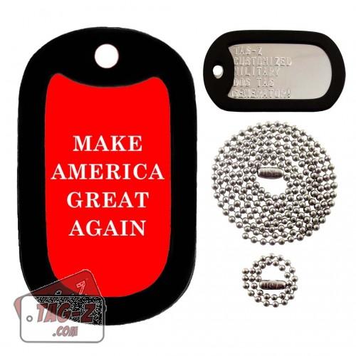 Make America Great Again Dog Tag Full Set Tag-Z