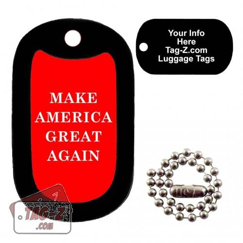 Make America Great Again LUGGAGE TAG Tag-Z