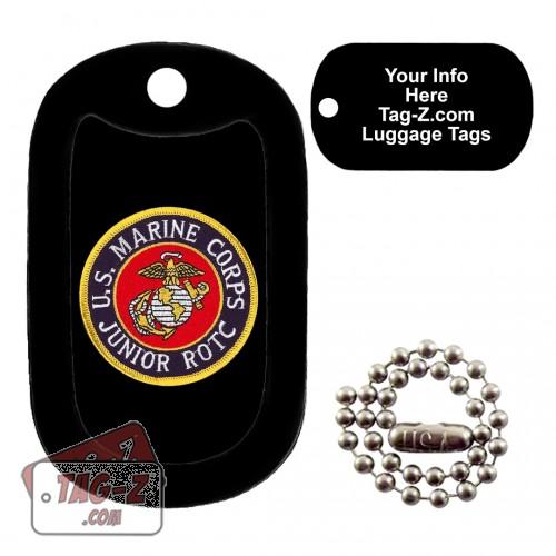 Marine Corps JROTC Patch LUGGAGE TAG Tag-Z