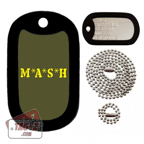 MASH Dog Tag Full Set Tag-Z