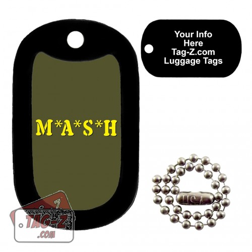 MASH LUGGAGE TAG Tag-Z