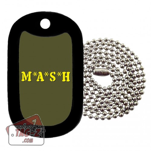 MASH Dog Tag Necklace