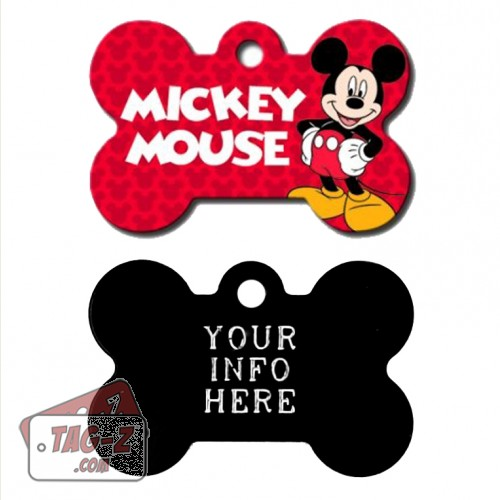 Tag-Z Wag-Z Mickey Mouse Pet Tag