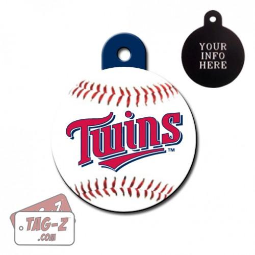 Minnesota Twins MLB Pet Tag