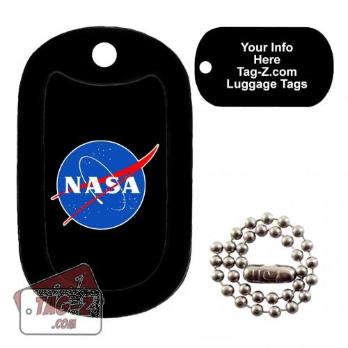 Nasa Logo LUGGAGE TAG Tag-Z