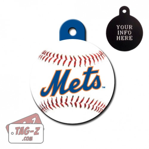 New York Mets MLB Pet Tag