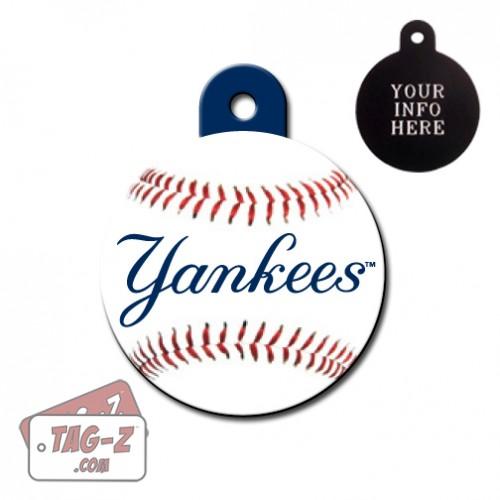 New York Yankees MLB Pet Tag