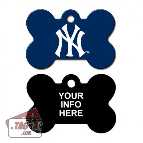 Tag-Z Wag-Z New York Yankees MLB Pet Tag
