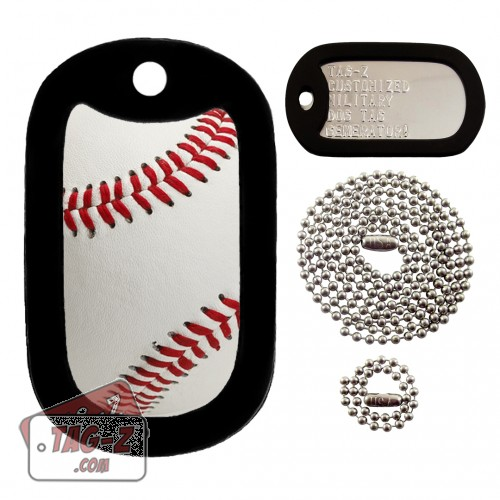 Real Baseball Dog Tag Full Set Tag-Z