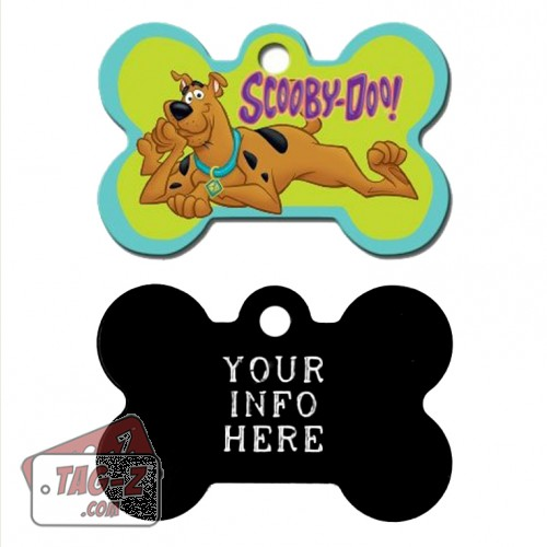 Tag-Z Wag-Z Scooby Doo Pet Tag