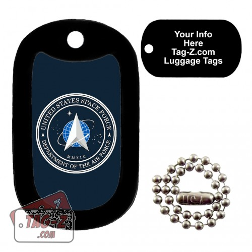 SPACE FORCE Logo LUGGAGE TAG Tag-Z