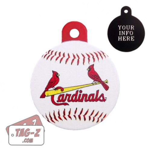 St. Louis Cardinals MLB Pet Tag