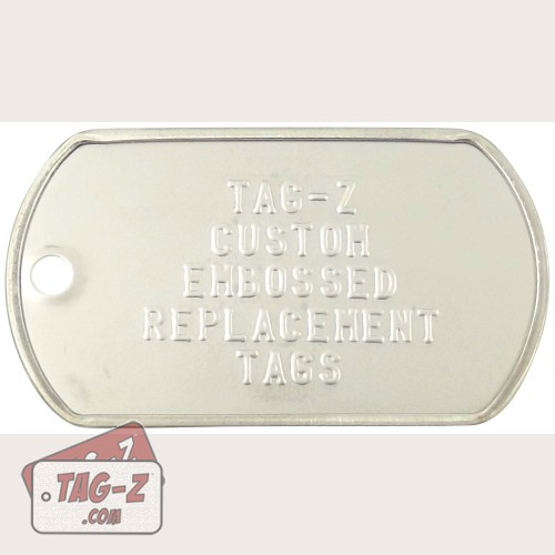 """""""Oops, I made a mistake"""" Replacement Dog Tag"""