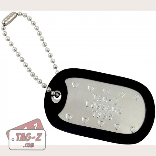 Tag-Z Custom Embossed Luggage Tags