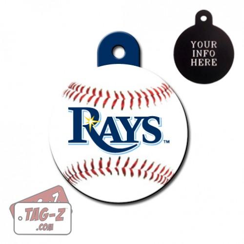 Tampa Bay Rays MLB Pet Tag