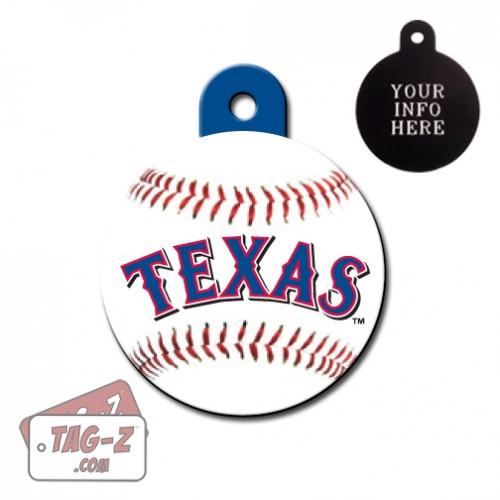 Texas Rangers MLB Pet Tag