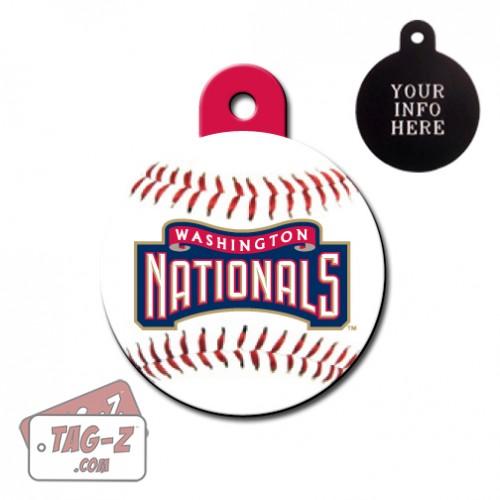 Washington Nationals MLB Pet Tag