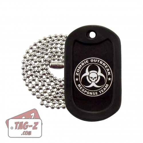Tag-Z Zombie Outbreak Response Team Dog Tag Necklace